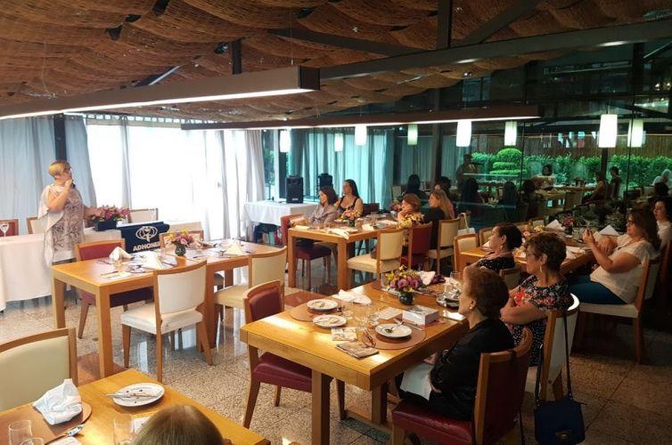 Almoço do Apoio Feminino em São Paulo (SP) Capítulo 003 (14/04)
